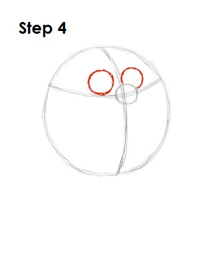 How to Draw Peter Griffin Step 4