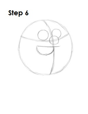 How to Draw Peter Griffin Step 6