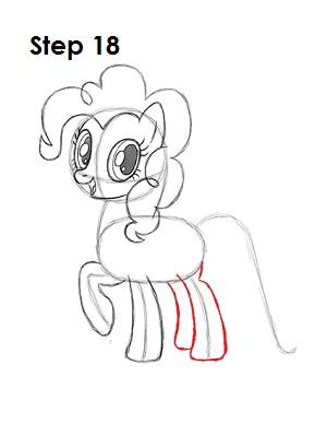 Draw Pinkie Pie 18