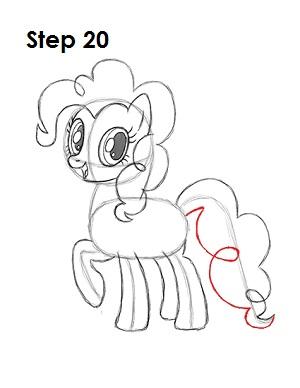 Draw Pinkie Pie 20