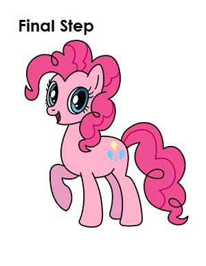 Draw Pinkie Pie