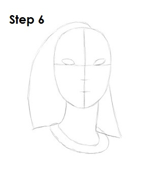 How to Draw Pocahontas Step 6