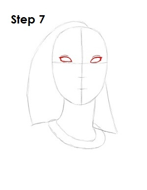 How to Draw Pocahontas Step 7