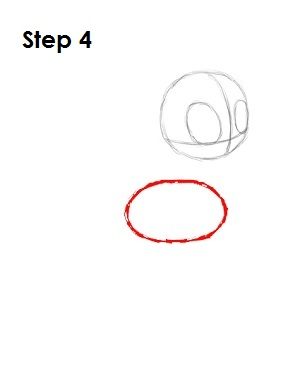 How to Draw Rainbow Dash Step 4