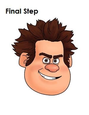 Draw Wreck-It Ralph