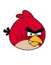 How to Draw a Red Angry Bird