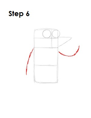 How to Draw Rigby Step 6