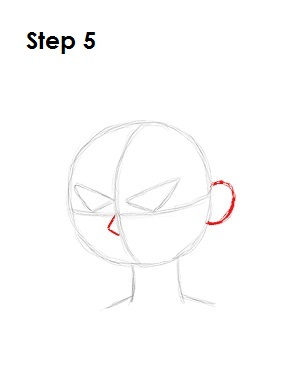 How to Draw Robin Step 5