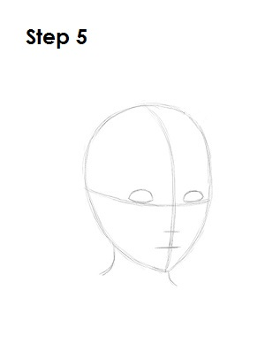 How to Draw Roxas Step 5