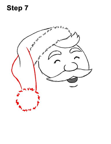 How to Draw Santa Claus Christmas Full Body 7