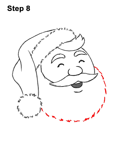 How to Draw Santa Claus Christmas Full Body 8