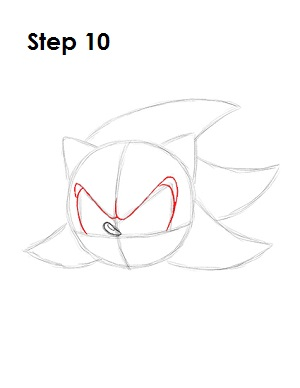 How to Draw Shadow Step 10