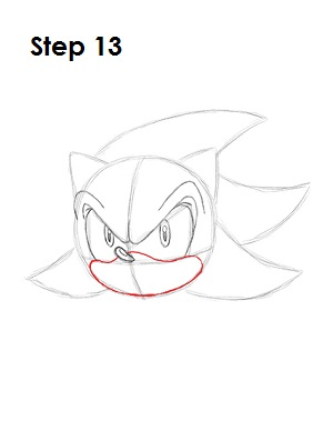 How to Draw Shadow Step 13