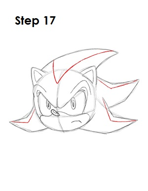 How to Draw Shadow Step 17
