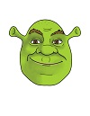 How to Draw Shrek Head