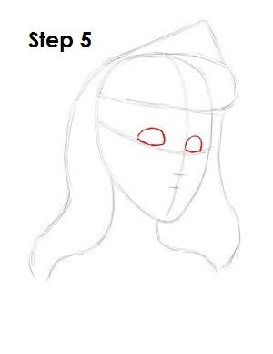 Draw Sleeping Beauty Step 5