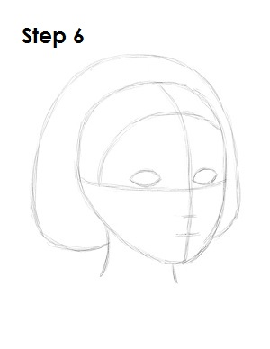 How to Draw Snow White Step 6