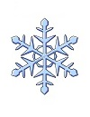 How to Draw Ice Snowflake Winter