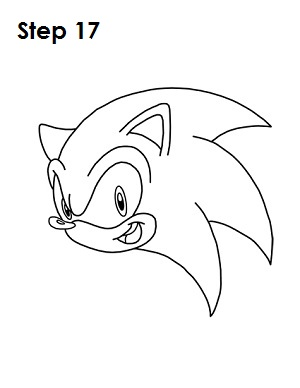 How To Draw Sonic The Hedgehog