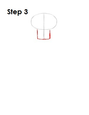 How to Draw Squidward Step 3