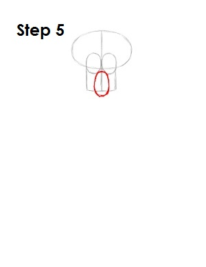 How to Draw Squidward Step 5