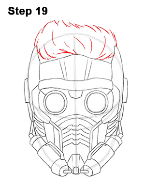 Draw Star-Lord 19