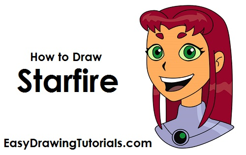 How to Draw Starfire