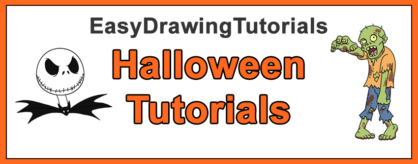 How to Draw Halloween Characters Cartoons