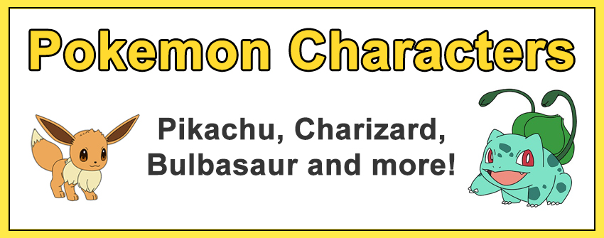 How to Draw Pokémon Characters Popular Categories