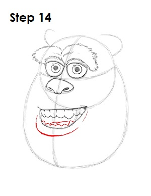 Draw Sulley Monster 14