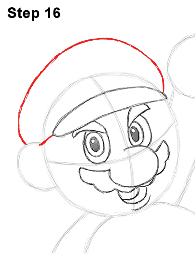 Draw Super Mario Bros. Nintendo 16