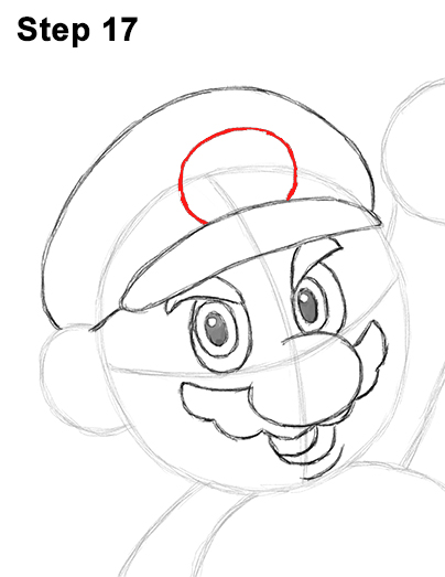 Draw Super Mario Bros. Nintendo 17