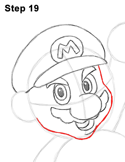 Draw Super Mario Bros. Nintendo 19