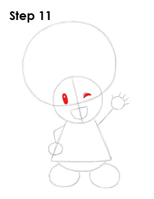 Draw Toadette 11