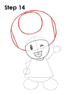 Draw Toadette 14