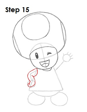Draw Toadette 15