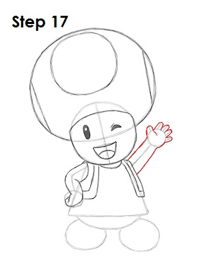 Draw Toadette 17