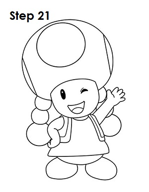 Draw Toadette 21