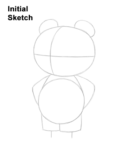How to Draw Tom Nook Animal Crossing Nintendo Guides Lines