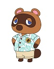 How to Draw Tom Nook Animal Crossing Nintendo