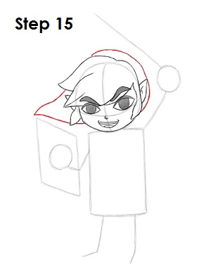 Draw Toon Link 15