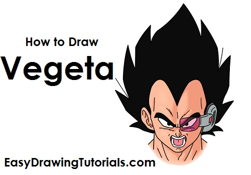 How to Draw Vegeta