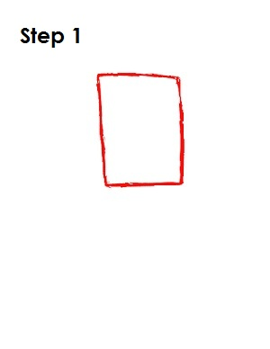 How to Draw Zim Step 1